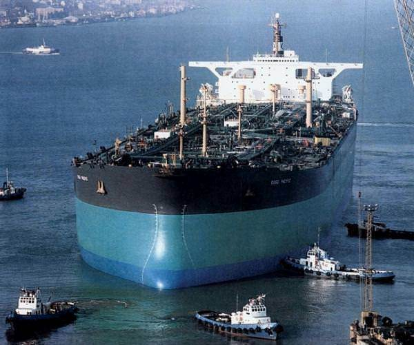 Esso Atlantic Biggest Ships
