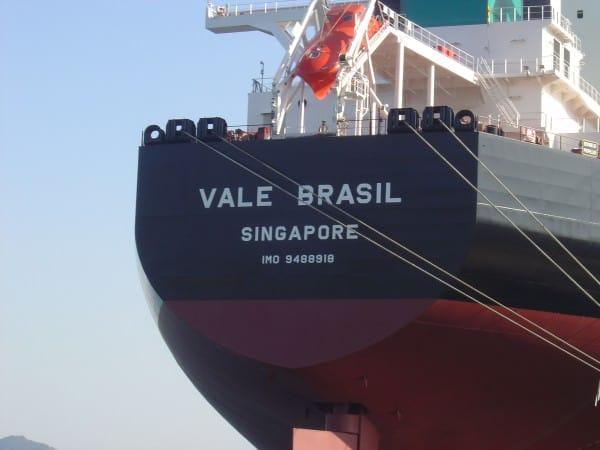 MS Vale Brasil Biggest Ships