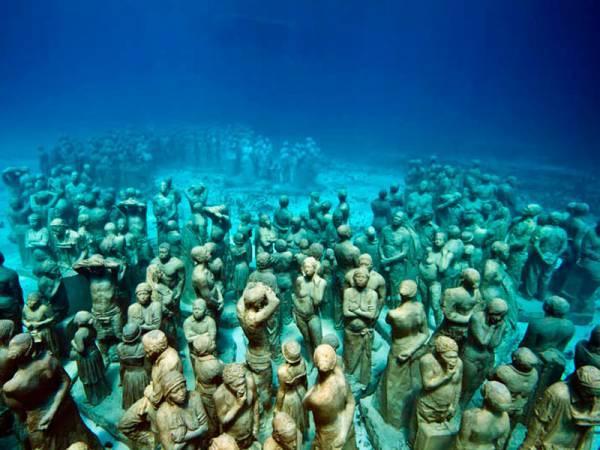 Underwater Museum Cancun
