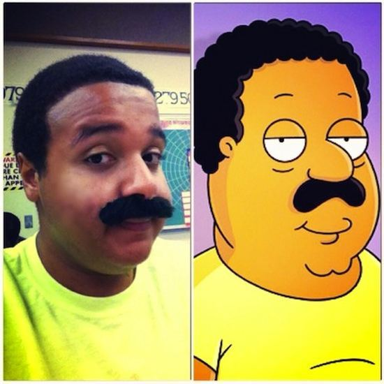 Cleveland from The Cleveland Show/ Family Guy