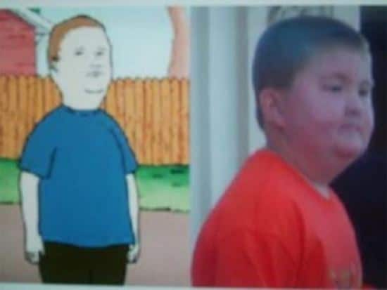 Bobby Hill from King Of The Hill
