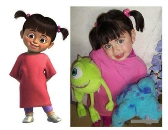 Boo from Monster's Inc