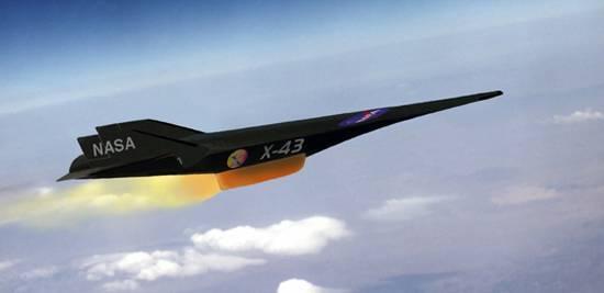 NASA X-43 A