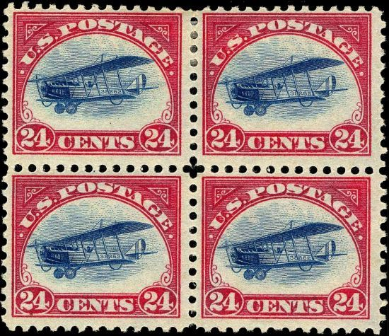 Inverted Jenny Expensive Stamps