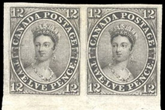 Canada 12-pence Black Rare Stamps