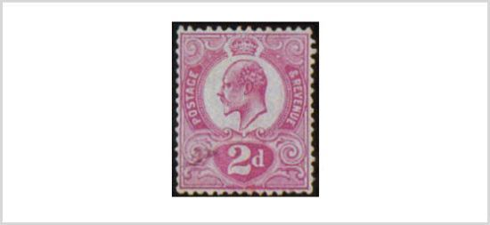 Tyrian Plum Expensive Stamps