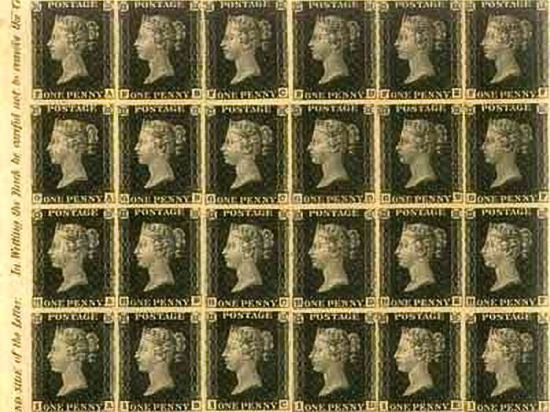 Penny Black Expensive Stamps