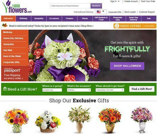 1800 Flowers order flowers online