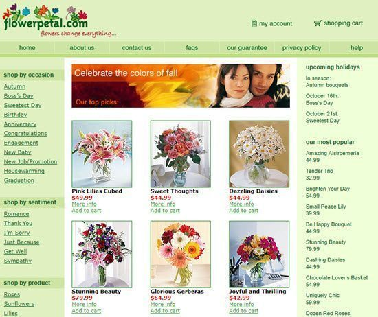 Flowerpetal order flowers online