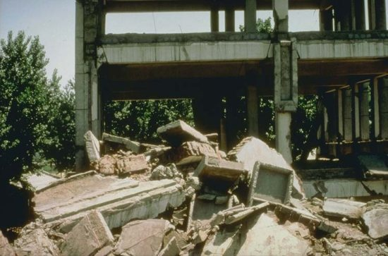 Tangshan Earthquake Worst Natural Disasters