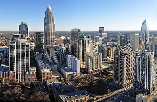 North Carolina populous USA states