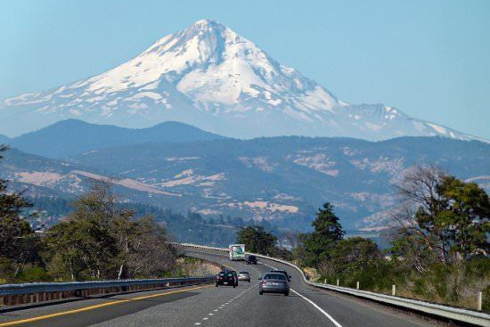 Oregon Largest States in the USA