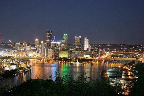 Pennsylvania populous USA states