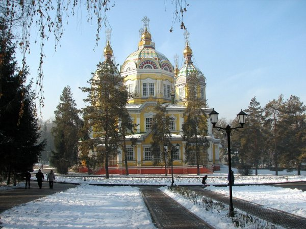 Kazakhstan Coldest Countries