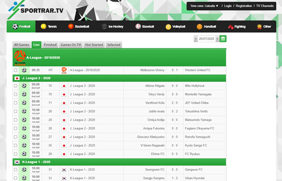 SportRAR Live Sports Streaming