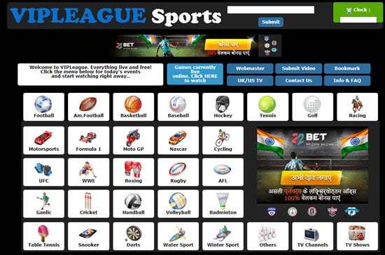 VIP League Live Sports Streaming