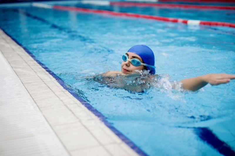 Swimming Girls Sports